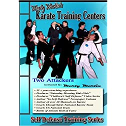 "Marty Martin's Self Defense Training Series ""Two Attackers Set"""