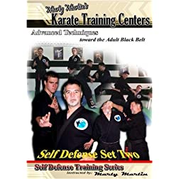 "Marty Martin's Self Defense Training Series ""Self Defense Set Two"""