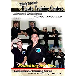 "Marty Martin's Self Defense Training Series ""Punching Set Two"""
