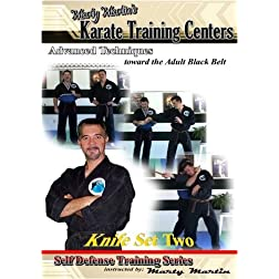 "Marty Martin's Self Defense Training Series ""Knife Set Two"""