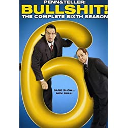 Penn & Teller Bullsh*t: Complete Sixth Season