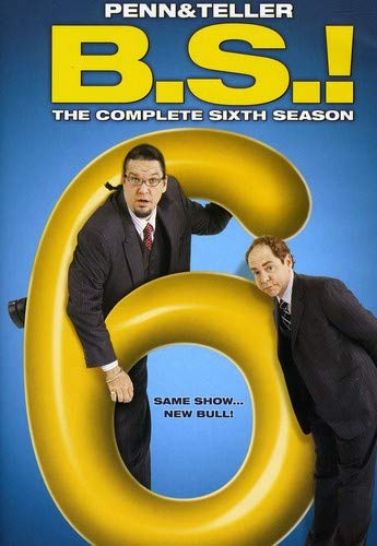 PENN & TELLER BS: COMPLETE SIXTH SEASON (2PC) - PENN & TELLER BS: COMPLETE SIXTH SEASON (2PC)