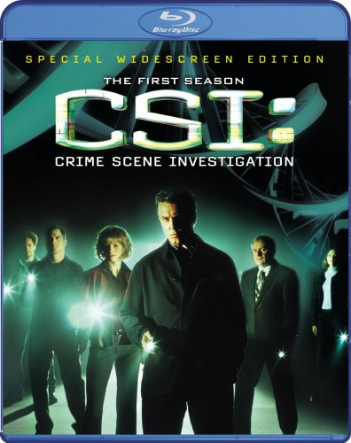 CSI: Crime Scene Investigation: The Complete First Season [Blu-ray]