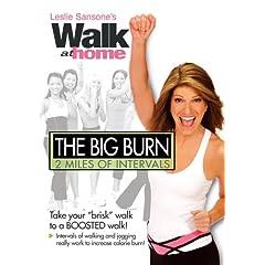 Leslie Sansone: Walk at Home - The Big Burn