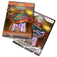 Florida Gators 2007 & 2009 Football National Championship 2 Pack (Full Games)