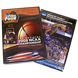 Kansas Jayhawks 1988 & 2008 Basketball National Championship 2 Pack (Full Games)