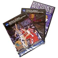 Kentucky Wildcats 1978, 1996 & 1998 Basketball National Championship 3-Pack (Full Games)