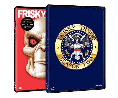 Frisky Dingo: S1-2 (2pk/DVD)