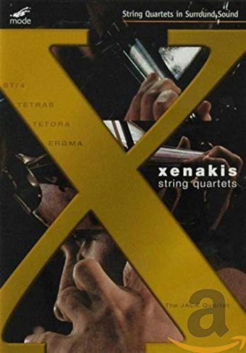 The JACK Quartet: Xenakis String Quartets