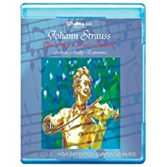 Johann Strauss: The New Years Concert in Vienna - Acoustic Reality Experience [7.1 DTS-HD Master Audio Disc] [Blu-ray]