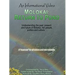 Molokai: Return to Pono
