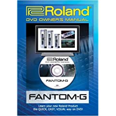 Roland Fantom-G DVD Video Tutorial Manual Help