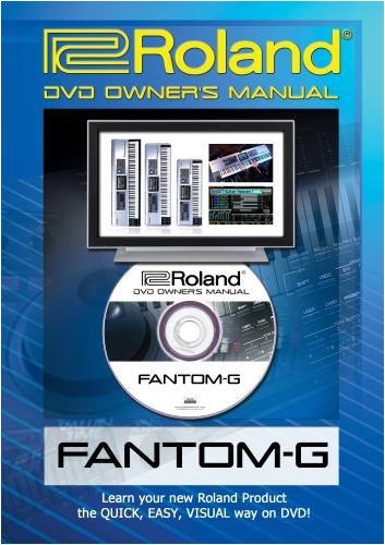 Roland Fantom-G DVD Video Tutorial Manual Help