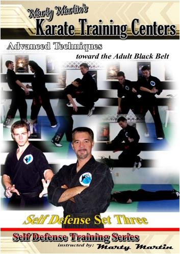 "Marty Martin's Self Defense Training Series ""Self Defense Set Three"""