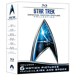 Star Trek: Original Motion Picture Collection (The Motion Picture / The Wrath of Kahn / The Search for Spock / The Voyage Home / The Final Frontier / The ... Captains Summit Bonus Disc) [Blu-ray]