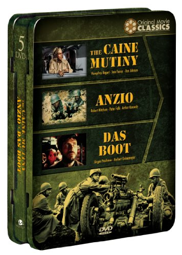 World War II Films: Caine Mutiny/Anzio/Das Boot