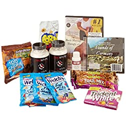 The Healthy Easter Basket: Massage DVD, Oil, CD, Health Supplements and Healthy Treats