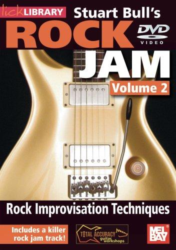 Rock Jam- Stuart Bull, Vol. 2 Rock Improvisation Techniques