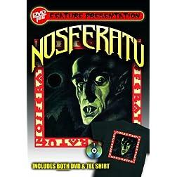 Nosferatu DVDTee (Size L or XL)