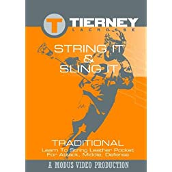 Tierney Lacrosse: String It & Sling It - Traditional