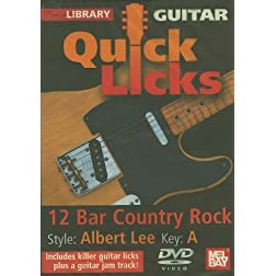 Guitar Quick Licks: Albert Lee Style 12 Bar