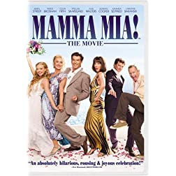 Universal Mamma Mia The Movie W/frame [dvd/ff/gwp]