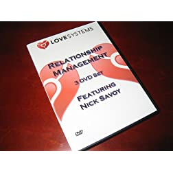Love Systems Relationship Management 3 DVD Set