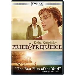 Universal Pride & Prejudice W/frame [dvd/ff/gwp]