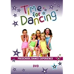 Time For Dancing Preschool Dance Experience DVD