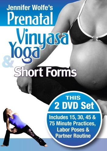 Prenatal Vinyasa Yoga & Short Forms 2 DVD Set