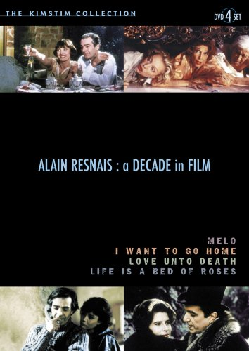 Alain Resnais: A Decade in Film (Life is a Bed of Roses / Love Unto Death / Melo / I Want to Go Home) (1983-1989) (4pc)