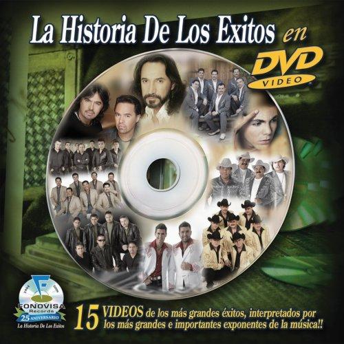 La Historia de Los Exitos en DVD