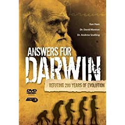 Answers For Darwin DVD & MP3