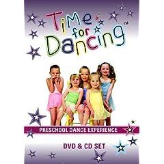 Time For Dancing Preschool Dance Experience DVD + CD Set [PAL]
