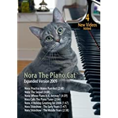 Nora The Piano Cat(tm) DVD: Expanded Version 2009
