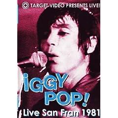 Iggy Pop! Live San Fran 1981