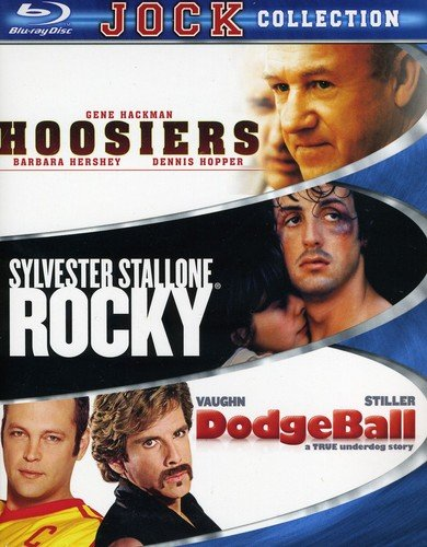Jock Collection (Dodgeball / Hoosiers / Rocky) [Blu-ray]