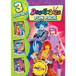 Doodlebops: Family Fun Pack (3pc)
