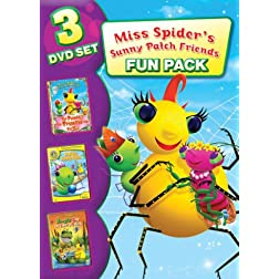Miss Spider: Family Fun Pack (3pc)