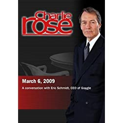 Charlie Rose - Eric Schmidt, CEO of Googler (March 6, 2009)