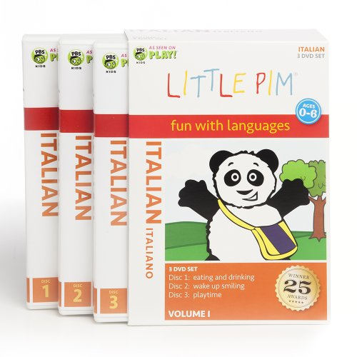 Little Pim: 3-Pack (Italian)