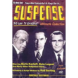 Suspense: The Lost Episodes - Collections 1-3