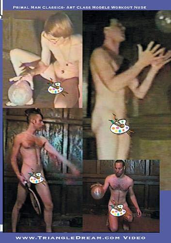 Primal Man Classics- Art Class Models Workout Nude