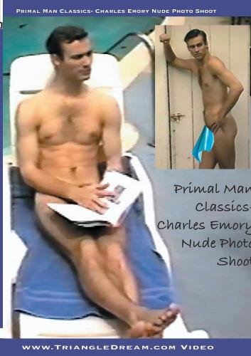 Primal Man Classics- Charles Emory Nude Photo Shoot