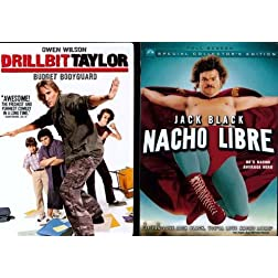 Paramount Drillbit Taylor/nacho Libre 2pk [dvd] [side By Side]