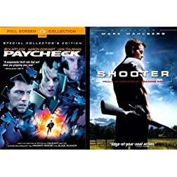 Paramount Shooter/paycheck 2pk [dvd] [side By Side]