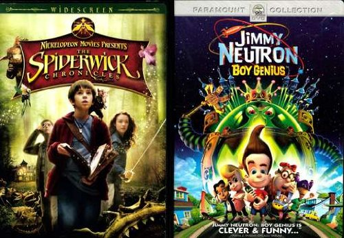 Paramount Pard7906427d Spiderwick Chronicles/jimmy Neutron-boy Genius 2pk [dvd][side By Side]