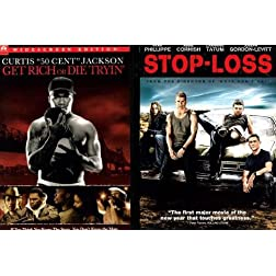 Paramount Stop Loss/get Rich Or Die Tryin 2pk [dvd] [side By Side]