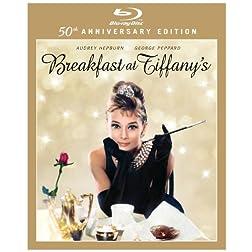 Breakfast at Tiffany's (50th Anniversary Edition) [Blu-ray]