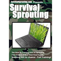 Survival Sprouting - The How To Training DVD on Sprouting